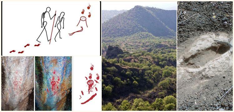 Kula Ayak İzleri ile Kanlıtaş Kaya Resminin gizemi çözüldü