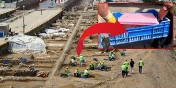 Haydarpaşa Garında çalışan arkeologlar top mermisi buldu