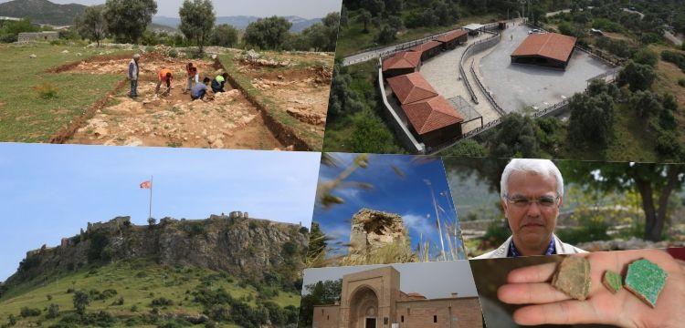 Beçin Antik Kenti'nde aralıksız sürecek 2019 yılı arkeoloji kazıları başladı