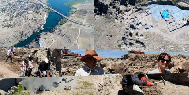 Büklükale arkeoloji kazılarında Hititlere ait 9 yapı katı tespit edildi