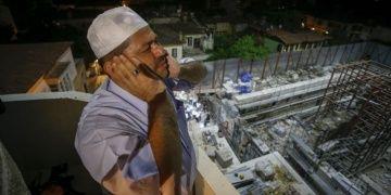 Külahı yenilenen Kesik Minarede 123 yıl sonra ilk ezan okundu