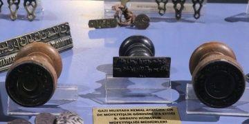 Atatürkün 9. Ordu Müfettişi iken kullandığı mühür Tokatta