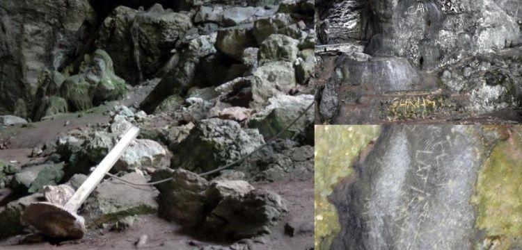 12 bin yıllık Nimara Mağarasında M.S. 2 binlere ait yabanilik izleri bulundu