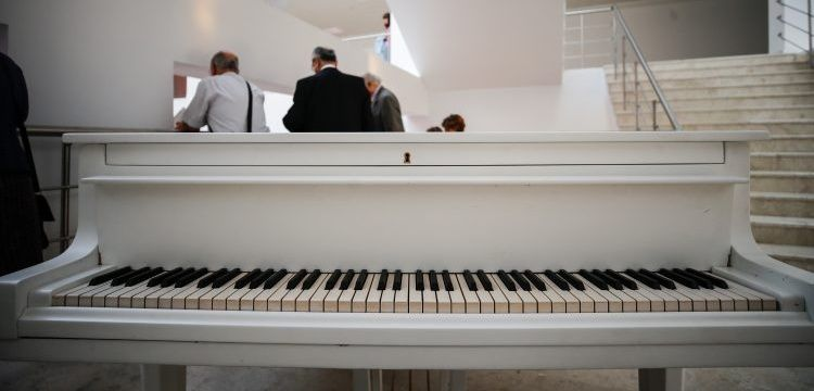 Atatürk'ün Beyaz Piyanosu restore edildi