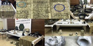 İstanbuldaki seri operasyonlarda 313 tarihi görünümlü eser yakalandı