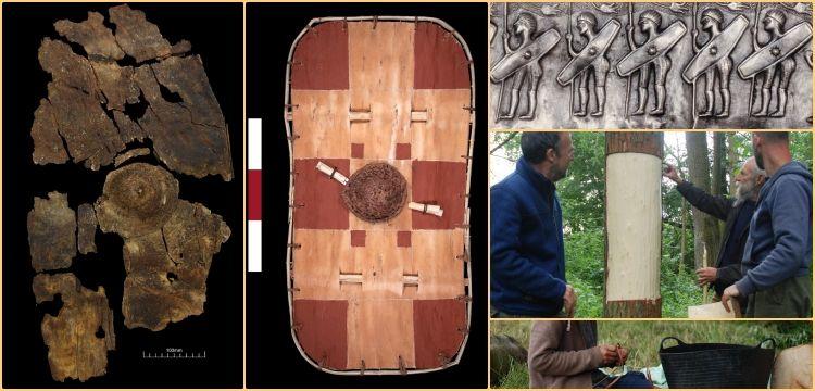 Ağaç kabuğundan yapılan 2300 yıllık Kelt kalkanı teknoloji harikası çıktı