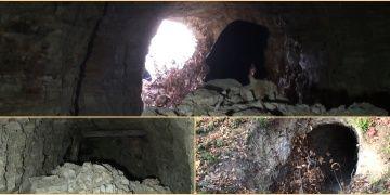 Bartında definecilerin kazdığı sanılan 20 metrelik tünel bulundu