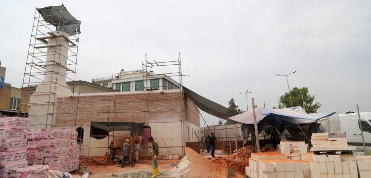 Adana Cafer Paşa Camisi yeniden inşa edliyor