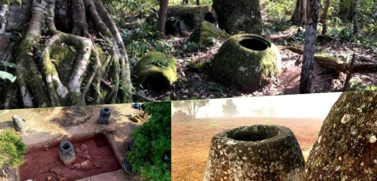 Laos'taki gizemli Küpler Ovasında 137 dev taş küp daha bulundu