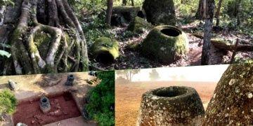 Laostaki gizemli Küpler Ovasında 137 dev taş küp daha bulundu