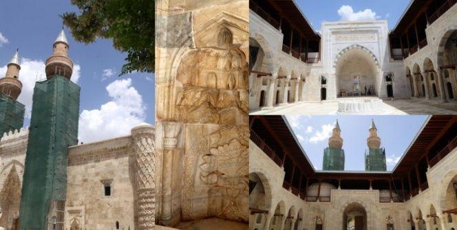 Sivasın mimari şaheseri Gök Medrese nihayet ziyaret açılabildi