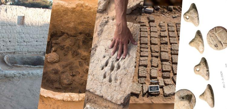 Abu Dabi'deki 3 bin yıllık kerpiç tuğlalarda parmak izleri bulundu