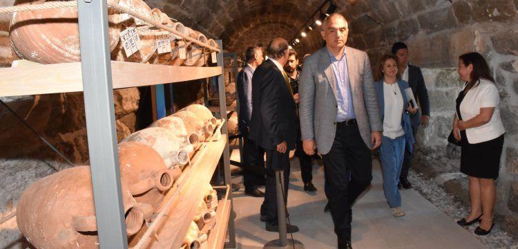 Bakan Ersoy, Bodrum Su Altı Arkeoloji Müzesi'nin yol haritasını açıkladı