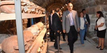 Bakan Ersoy, Bodrum Su Altı Arkeoloji Müzesinin yol haritasını açıkladı