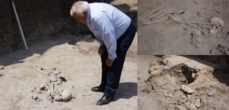 7000-years-old skeleton found at early Neolithic grave in Bulgaria