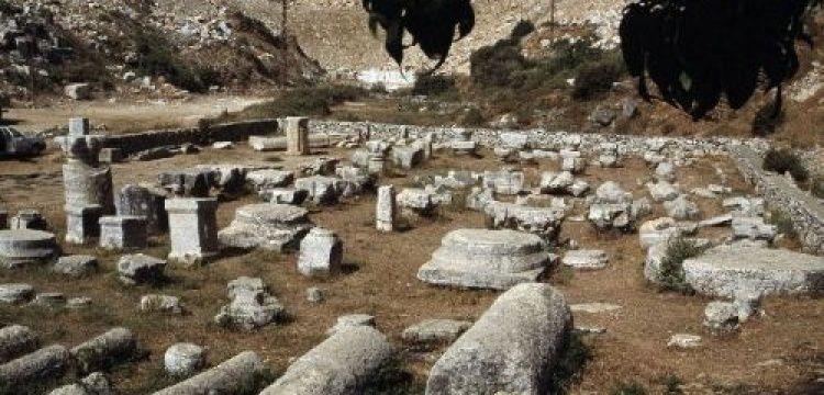1 yılda sadece 48 kez ziyaret edilen arkeolojik alan var