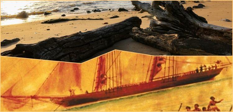 Köle tacirlerinin yaktığı son köle gemisinin kalıntıları bulundu