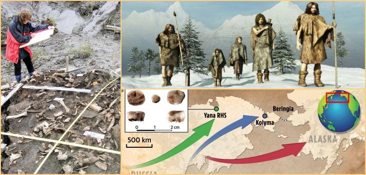 Sibirya'dan Amerika'ya göçen 30 bin yıllık kayıp kabilenin izleri bulundu