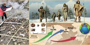 Sibiryadan Amerikaya göçen 30 bin yıllık kayıp kabilenin izleri bulundu