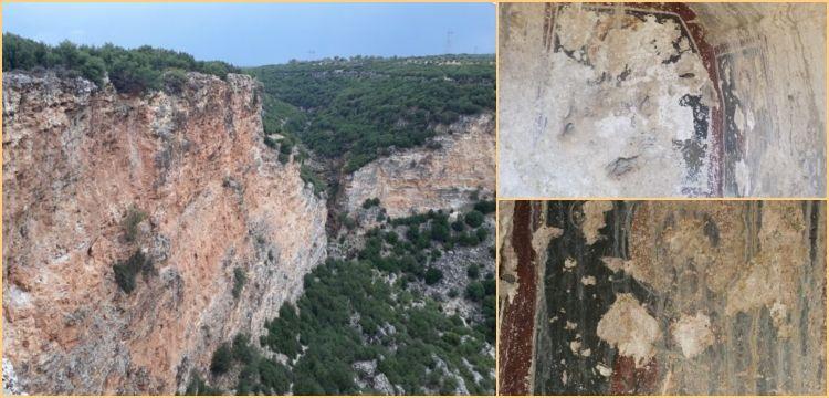 Karacasu kayalıklarındaki Bizans dönemi Hz. İsa tasviri yok edildi