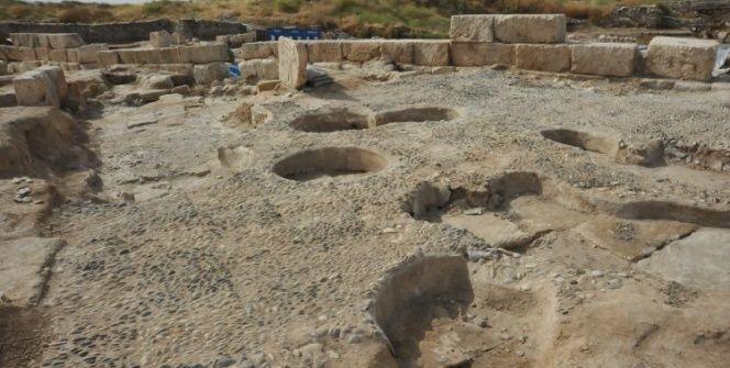 Yarısı Türkiyede yarısı Suriyedeki arkelojik alan: Karkamış Antik Kenti