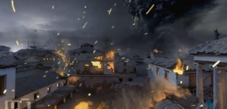 Pompeii Antik Kentinin son iki günü böyle canlandırıldı?