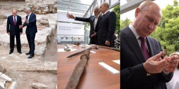 Putin, Taynitsk Bağında çalışan Rus arkeologları ziyaret etti