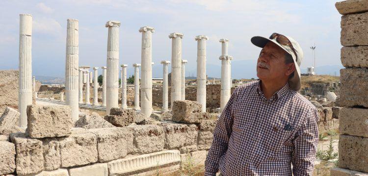 'Bir ülkede düzen bozuldu mu önce tarihi eserler yağmalanıyor'