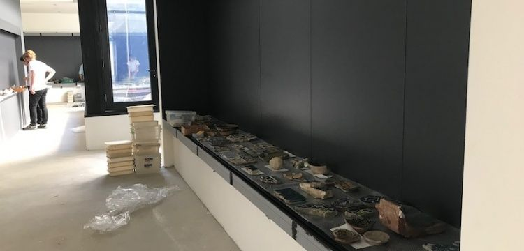 İstanbul Üniversitesi Arkeoloji Müzesi kuruyor.