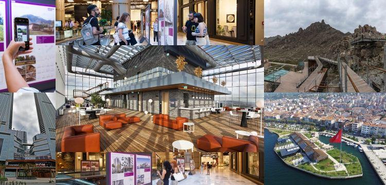 Mimarlık Yıllığı 2019 sergisi HOM Design Center'de açıldı