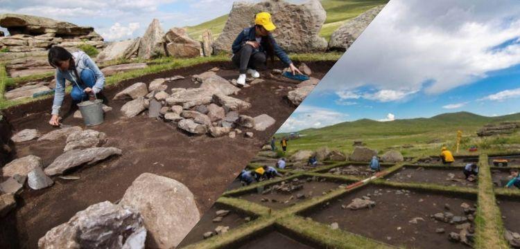 Kazakistan'da 3 bin yıllık göçebe olmayan Saka yerleşimi keşfedildi