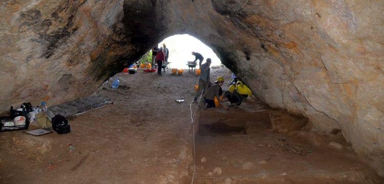 Bilecik'in İnhisar ilçesinde Paleolitik izler bulunan mağarada kazı başladı