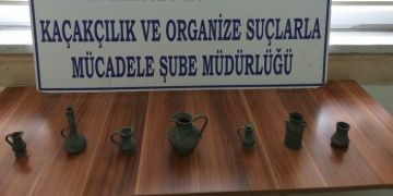 Polis, Kayseride tarihi eser satmaya çalışan şahsı yakaladı