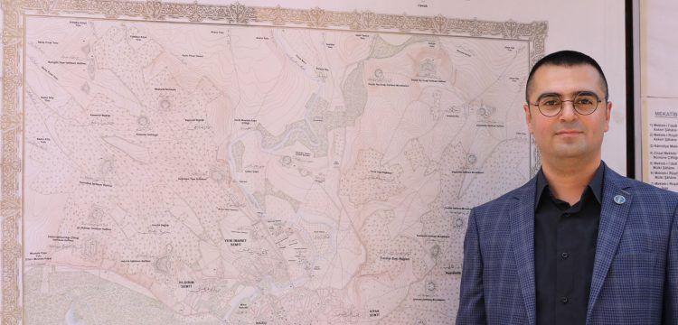 Sultan Abdulhamit'in Çizdirdiği Trakya Haritası Sergilendi
