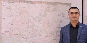 Sultan Abdulhamitin Çizdirdiği Trakya Haritası Sergilendi