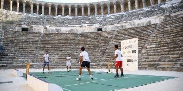 Turkish Airlines Antalya Open Tenis Turnuvası Aspendos Antik Tiyatroda başladı