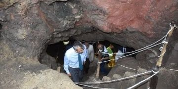 Sulu Mağaranın Restorasyonu için çalışmalar sürüyor