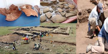 Yozgatta yaklaşık 2500 yıllık testi kebabı kalıntılarına rastlandı