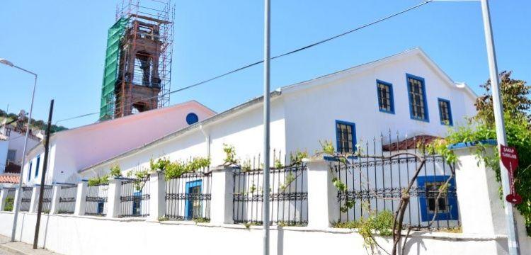Bozcaada'daki Rum Ortodoks Kilisesi'nin çan kulesi restore edilecek