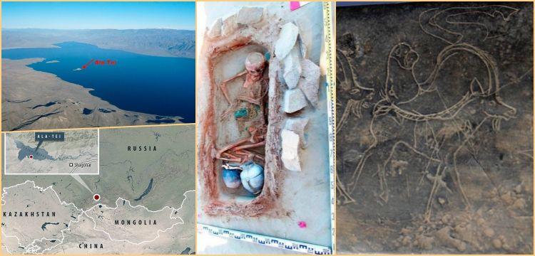 Arkeologlar Hun Atlantisi'nde zamanla ve dalgalarla yarışıyorlar