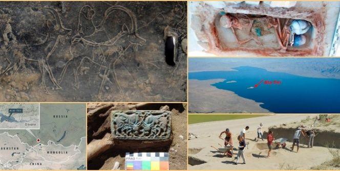 Sibirya Atlantisindeki Hunluların Kayıp Mirası olağandışı kazılarla bulunuyor