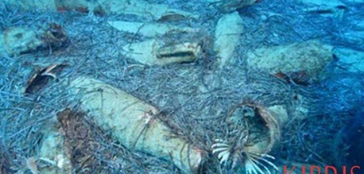 Kıbrıs'ın Protara beldesinde batık Roma gemisi bulundu