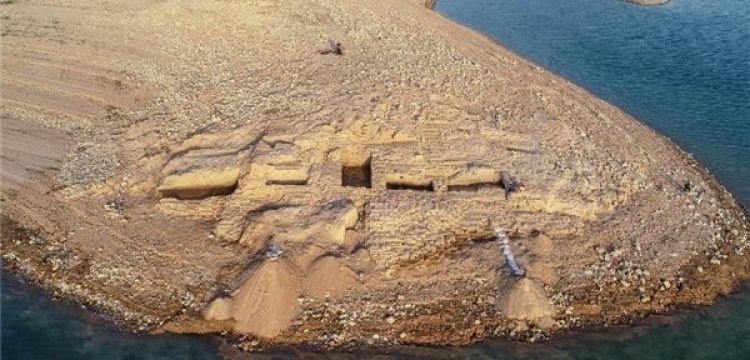Irak'ta Dicle kıyısında 3 bin yıllık saray kalıntısı ortaya çıktı