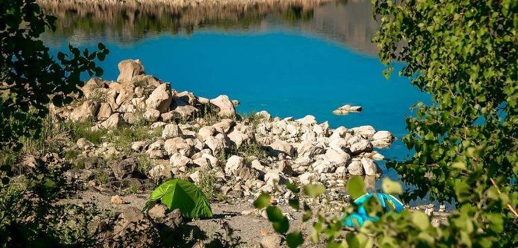 Nemrut Krater Gölü'nde kamp kuranların sayısı artıyor