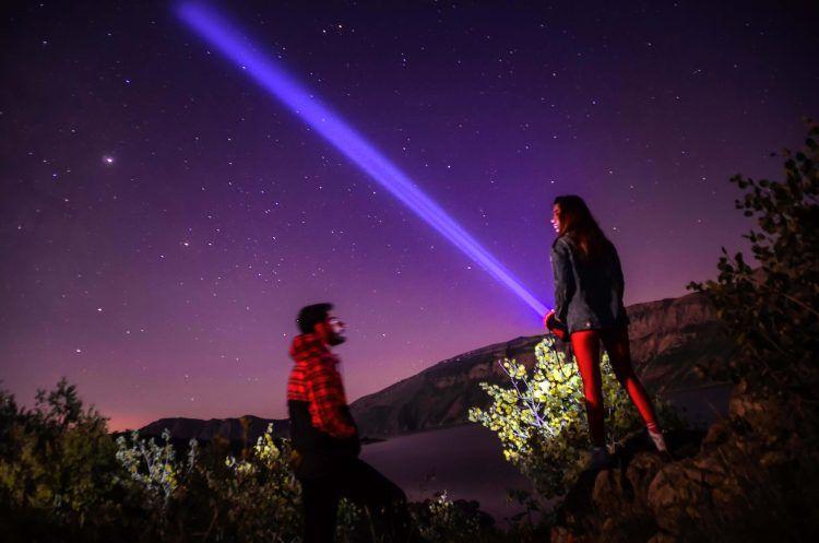 Nemrut Krater Gölü kamp ateşleri ile şenleniyor