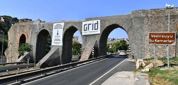 İzmir'deki Vezirsuyu Su Kemerleri restore ediliyor