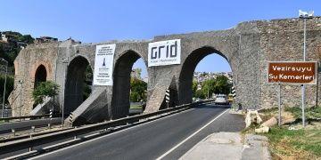 İzmirdeki Vezirsuyu Su Kemerleri restore ediliyor