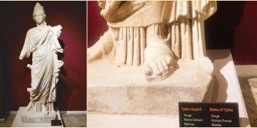Dedektif gibi çalışan Kültür Bakanlığı Thyke heykelinin peşinde