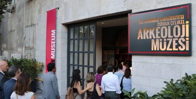 İstanbul Üniversitesinin arkeoloji müzesi açıldı