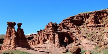 Erzurumda kollar Narman Peribacaları için sıvandı